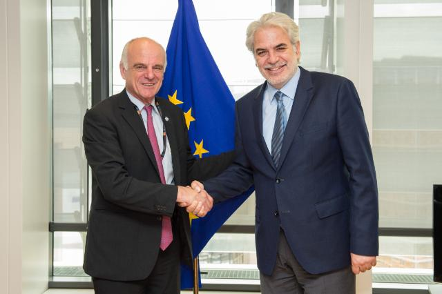 Visit of David Nabarro, UN System Senior Coordinator for the response to Ebola Virus Disease, to the EC