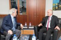 Visit of David Nabarro, UN System Senior Coordinator for the response to Ebola Virus Disease, to the EC