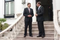 Visit of Valdis Dombrovskis, Vice-President of the EC, to Lisbon