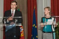Visite de Valdis Dombrovskis, vice-président de la CE, à Lisbonne