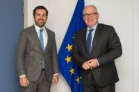 Visit of Klaas Dijkhoff, Dutch State Secretary for Security and Justice and Minister for Immigration, to the EC
