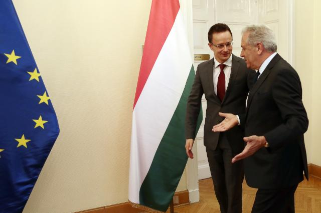 "Illustration of ""Visit of Dimitris Avramopoulos, Member of the EC, to Hungary"""