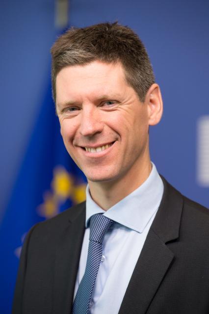 Maarten Verwey, Director-General at the EC