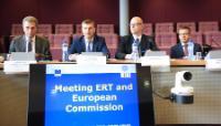 Réunion entre la Table ronde européenne des industriels et la CE, Bruxelles, 20/07/2015