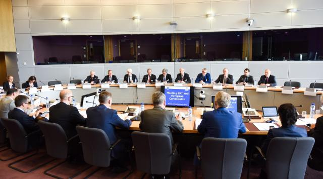 Meeting between the European Round Table of Industrialists and the EC, Brussels, 20/07/2015