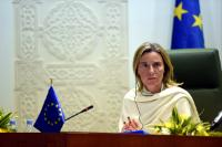 "Illustration of ""Visit of Federica Mogherini, Vice-President of the EC, to Saudi Arabia"""