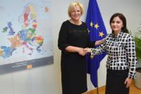 Visit of Luminiţa Teodora Odobescu, Romanian Secretary of State for Foreign Affairs, to the EC