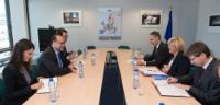 Visite de Peter Javorčik, représentant permanent slovaque auprès de l'UE, à la CE