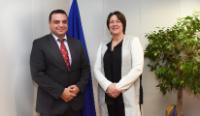 Visit of Ivaylo Moskovski, Bulgarian Minister for Transport, to the EC