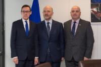 Visit of Jonathan Le Tocq, Chief Minister of Guernsey, and Ian Gorst, Chief Minister of Jersey, to the EC