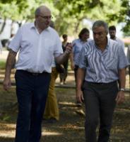 Visite de Phil Hogan, membre de la CE chargé de l'Agriculture et du Développement rural, en Colombie