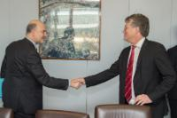 Visit of Joerg Wuttke, President of the EUCCC, to the EC