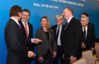 Visite de Federica Mogherini, vice-présidente de la CE, en Azerbaïdjan