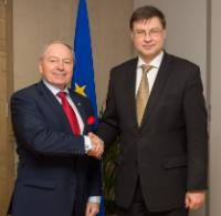 Visit of Vitālijs Gavrilovs, President of the Employers' Confederation of Latvia, to the EC