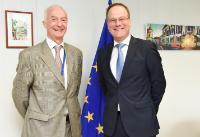 Visite de Gilles de Kerchove, coordinateur de l'Union européenne pour la lutte contre le terrorisme, à la CE