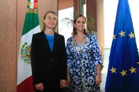Visit of Federica Mogherini, Vice-President of the EC, to Mexico