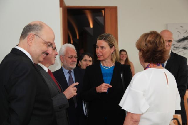 Visite de Federica Mogherini au Mexique