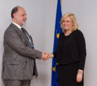 Visit of Cristian Popa, Vice-President of the European Investment Bank, to the EC