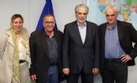 Visite de Ioannis Mouzalas, ministre grec délégué à la Migration, à la CE