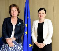 Visit of Diana Wallis, President of the ELI, to the EC