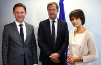 Visit of Paul Magnette, Minister-President of the Walloon Government et Mayor of Charleroi, to the EC