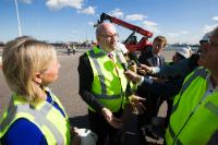Visit of Phil Hogan, Member of the European Commission to Rotterdam
