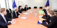 Visit of Francisco Javier Garcia Sanz, Member of the Board of Management of Volkswagen AG, to the EC