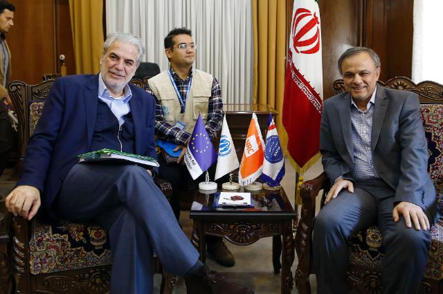 Visit by Christos Stylianides, Member of the EC, to Iran