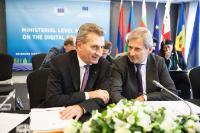 Réunion ministérielle sur la Communauté numérique avec les partenaires du partenariat oriental