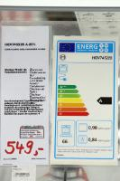 European Energy labels of home appliances