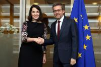 Visit of Sanni Grahn-Laasonen, Finnish Minister for Education and Culture, to the EC