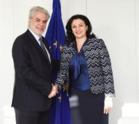 Visite d'Ivanna Klympush-Tsintsadze, vice-Première ministre ukrainienne chargée de l'intégration européenne et euro-atlantique, à la CE