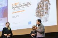 Discussion sur l'innovation et l'entrepreneuriat avec les 12 finalistes du Prix européen pour les femmes innovatrices 2017