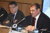 Visite de Maroš Šefčovič, vice-président de la CE et Miguel Arias Cañete, membre de la CE en Espagne
