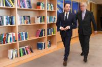 Visit of Benoît Hamon, elected candidate of the Socialist Party for the 2017 French presidential election, to the EC