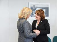 Visit of Rovana Plumb, Romanian Minister-delegate for European Funds, to the EC
