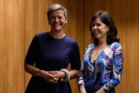 Visit by Margrethe Vestager, Member of the EC, to Portugal