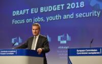 Press conference by Günther Oettinger, Member of the EC, on the EC's proposal for the EU budget 2018