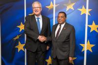 Visit of Augustine P. Mahiga, Tanzanian Minister for Foreign Affairs, East Africa, Regional and International Cooperation, to the EC