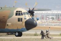 La base militaire aérienne de Saragosse, Espagne