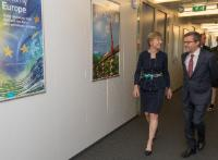 Visit of Susan Desmond-Hellmann, CEO of The Bill & Melinda Gates Foundation, to the EC
