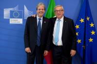Visit of Paolo Gentiloni, Italian Prime Minister, to the EC