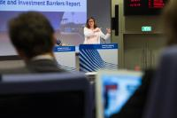 Press conference by Cecilia Malmström, Member of the EC, on the Trade and Investment Barriers Report for 2016