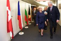 Visit of Frances Fitzgerald, Irish Deputy Prime Minister (Tánaiste), to the EC