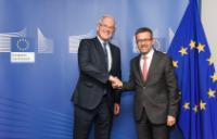 Visite de Jean-Bernard Lévy, président et PDG du groupe EDF, à la CE