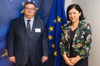 Visit of Sotir Tsatsarov, Bulgarian Attorney General, to the EC.