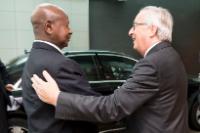 Visit of Yoweri Museveni, President of Uganda, to the EC