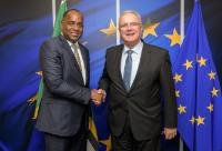 Visit of Roosevelt Skerrit, Dominican Prime Minister, to the EC