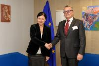 Visit of Vladimír Dlouhý, Supervisor of the working group 'Crisis in the euro area' at the National Economic Council of the Czech Government (NERV), to the EC
