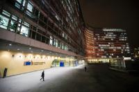 Berlaymont and EEAS buildings illuminated in orange for the UN's 'Orange the world